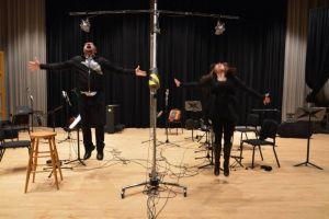 w Francesco Pellegrino & Vesuvius Ensemble. Recording of La Meglio Gioventu @ Glenn Gould Studio