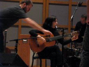 Little Rome @ Glenn Gould Studio 2007. Warm-up.